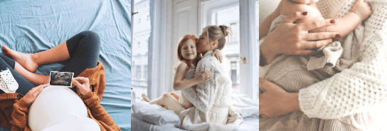 Raskaus & Äitiys