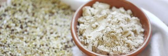 Plantebasert proteinpulver