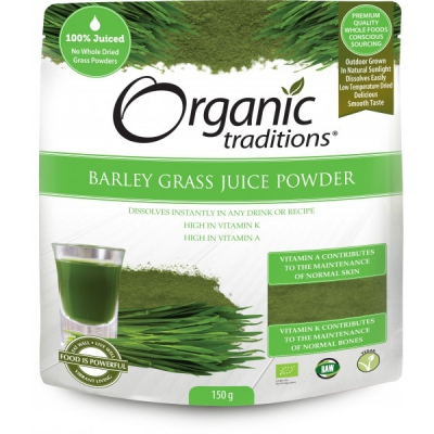 RAW Ekologiskt Korngräsjuicepulver 1