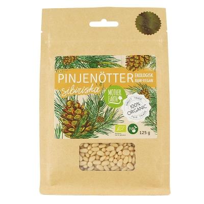 RAW Ekologiska Pinjenötter 125 g 1