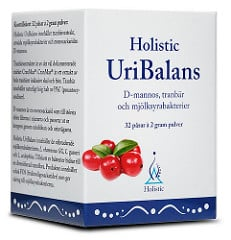 Holistic UriBalans - D-mannos & Tranbär 1