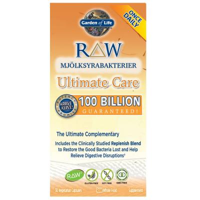 RAW Mjölksyrabakterier Ultimate Care 1