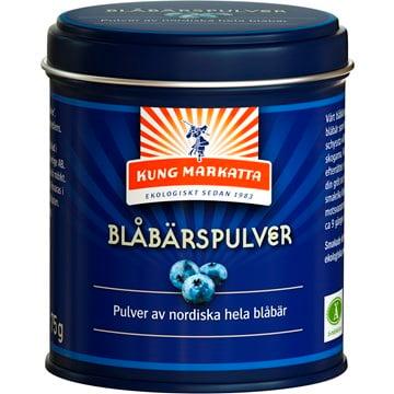Ekologiskt Nordiskt Blåbärspulver (Vildväxande) 1