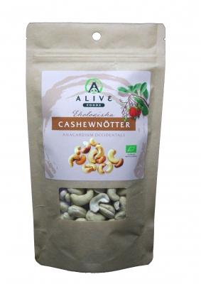 RAW Ekologiska Cashewnötter 200 g