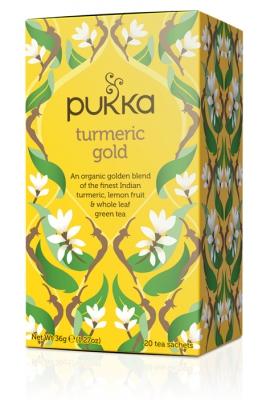 Pukka te Tumeric Gold 1
