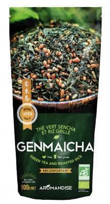 Genmaicha Japanskt grönt te med ris 1