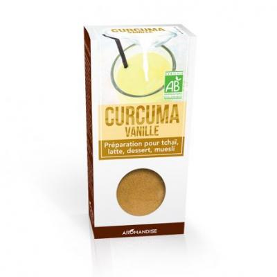 Gurkmeja Latte med Vanilj/Kakao 1