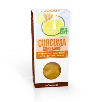 Gurkmeja Latte med Ingefära/Saffran 1