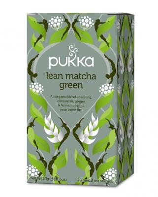 Pukka te Lean Matcha Green 1