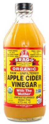 RAW BRAGG Ekologisk Äppelcidervinäger 1