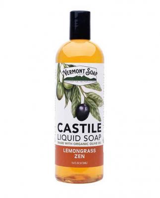 Flytande tvål från Vermont Soap - Citrongräs 1