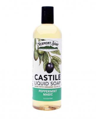 Flytande tvål från Vermont Soap - Pepparmynta 1