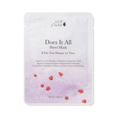100% Pure Sheet Mask Does It all 1