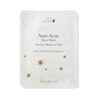 100% Pure Sheet Mask Anti Acne 1