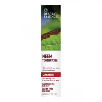 Tandkräm Tea Tree, Kanel, Neem & Mint 1