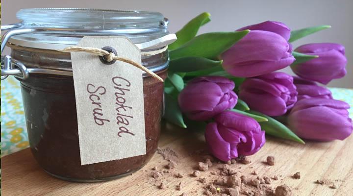 Chkoladskrubb för kroppen 1