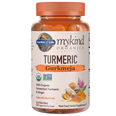 Mykind Organics Turmeric / Gurkmeja Tuggisar 1