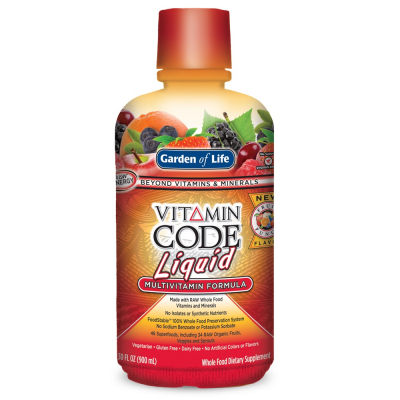 Vitamin Code Liquid Multivitamin Orange/Mango 1