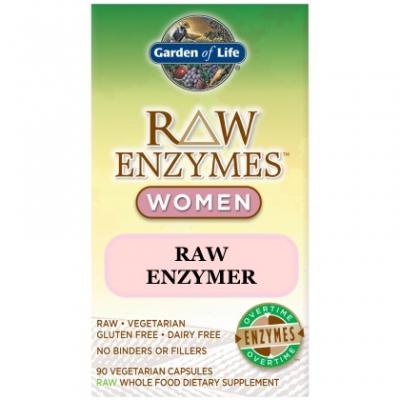 Garden of Life RAW Enzymer för kvinnor 1
