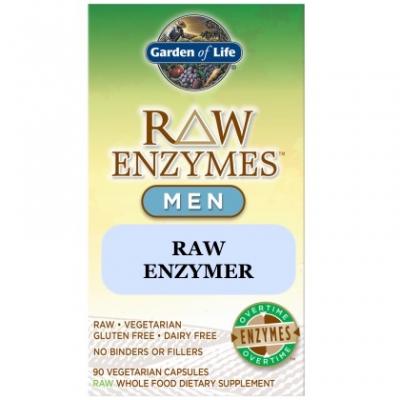 Garden of Life RAW Enzymer för män 1