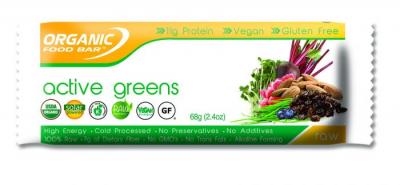 Organic Food Bars Active Greens 68g 1