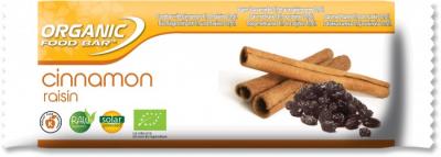 Organic Food Bars Cinnamon Raisin 50g 1
