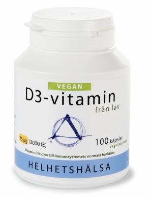 Helhetshälsa D3-vitamin Vegan 1