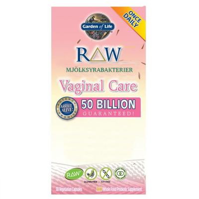 RAW Mjölksyrabakterier Vaginal Care 1