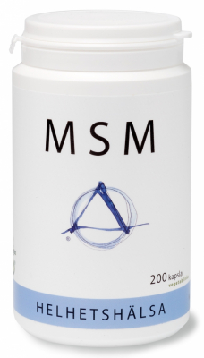Helhetshälsa Destillerad OptiMSM i kapslar 1
