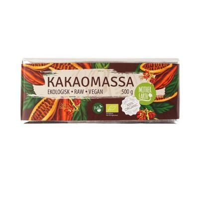 RAW Kakaomassa 100% 500 gram 1