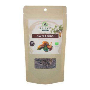 RAW sötade Kakaonibs 175 gram