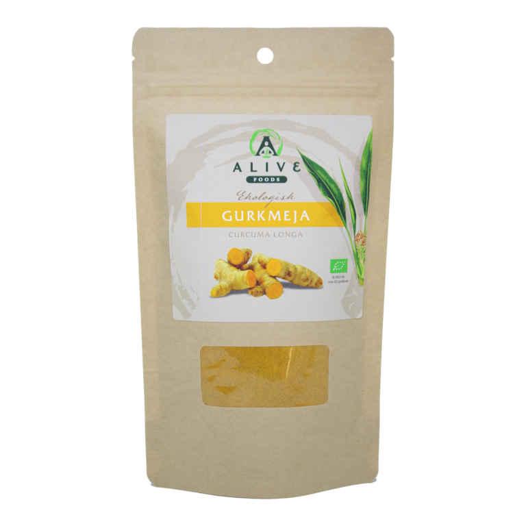 RAW Ekologisk Gurkmeja 150 gram 1