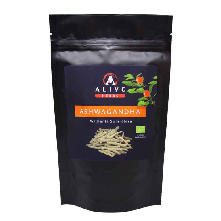 RAW Ekologiskt Ashwagandha pulver 100 gram 1