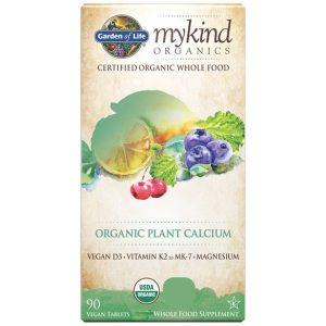 Mykind Organics Plant Kalcium / K2