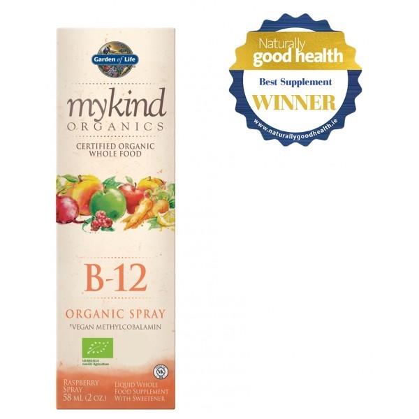 Mykind Organics Vegan B-12 1