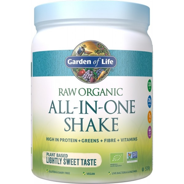 Garden of Life RAW Organic All-In-One Shake Neutral 1