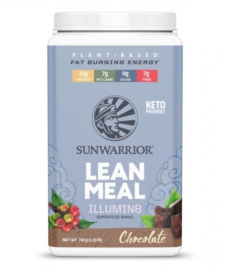SunWarrior Lean Meal Illumin8 Måltidsersättning Choklad 1