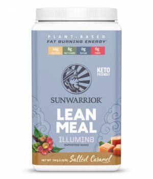 SunWarrior Lean Meal Illumin8 Måltidsersättning Salt Karamell
