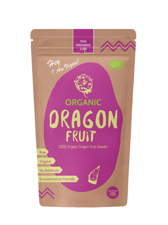 RAW Ekologisk Pink Pitaya Powder 1