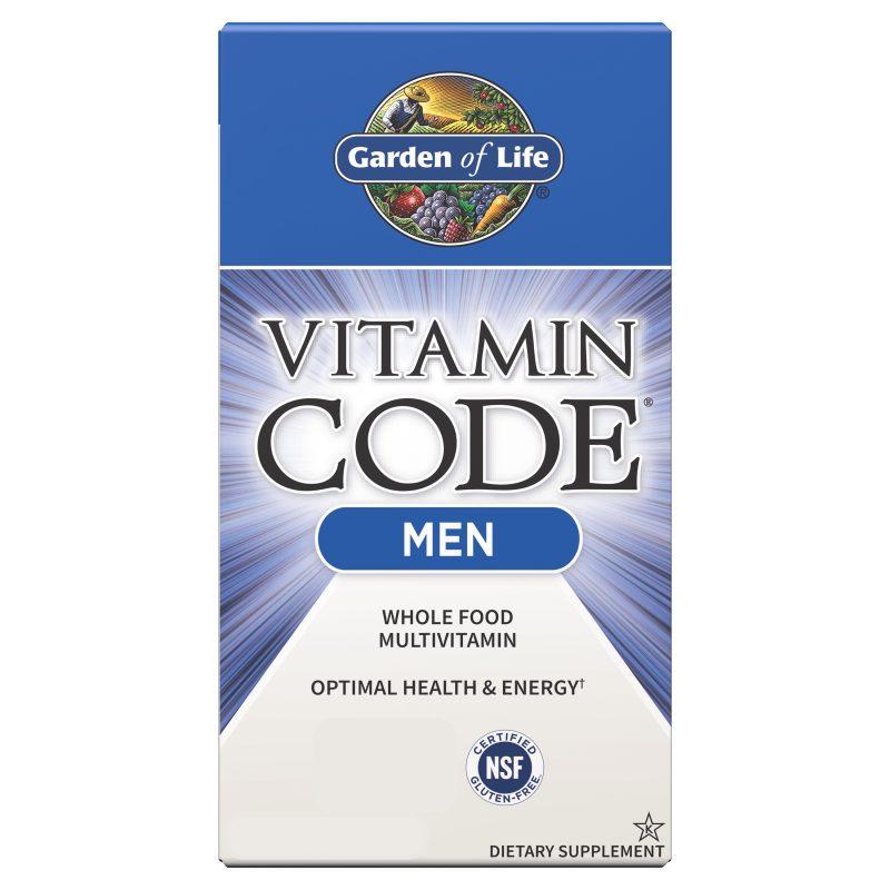 Vitamin Code Man Multivitamin 1