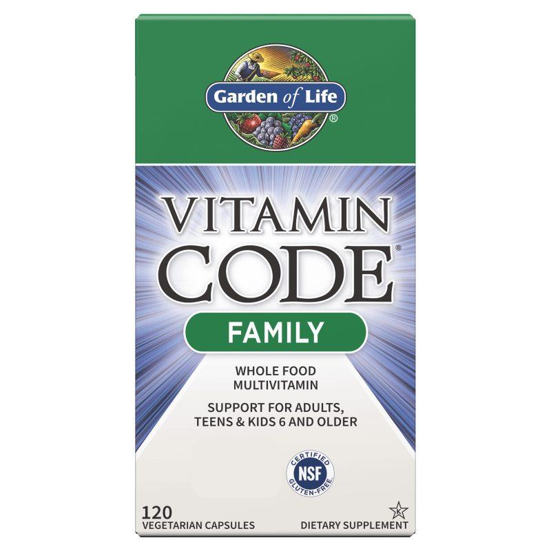 Vitamin Code Family Multivitamin 120 kaplsar 1