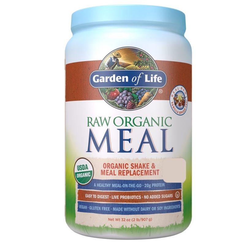 Garden of Life RAW Organic Meal Vanilla Chai 1