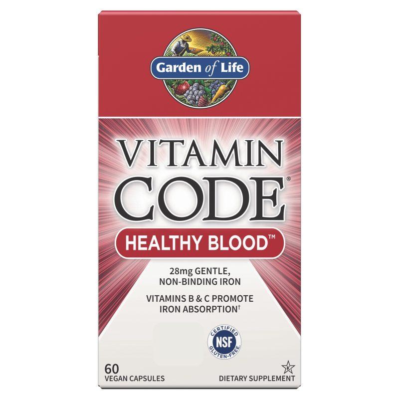 Vitamin Code RAW Järn & B-vitaminer
