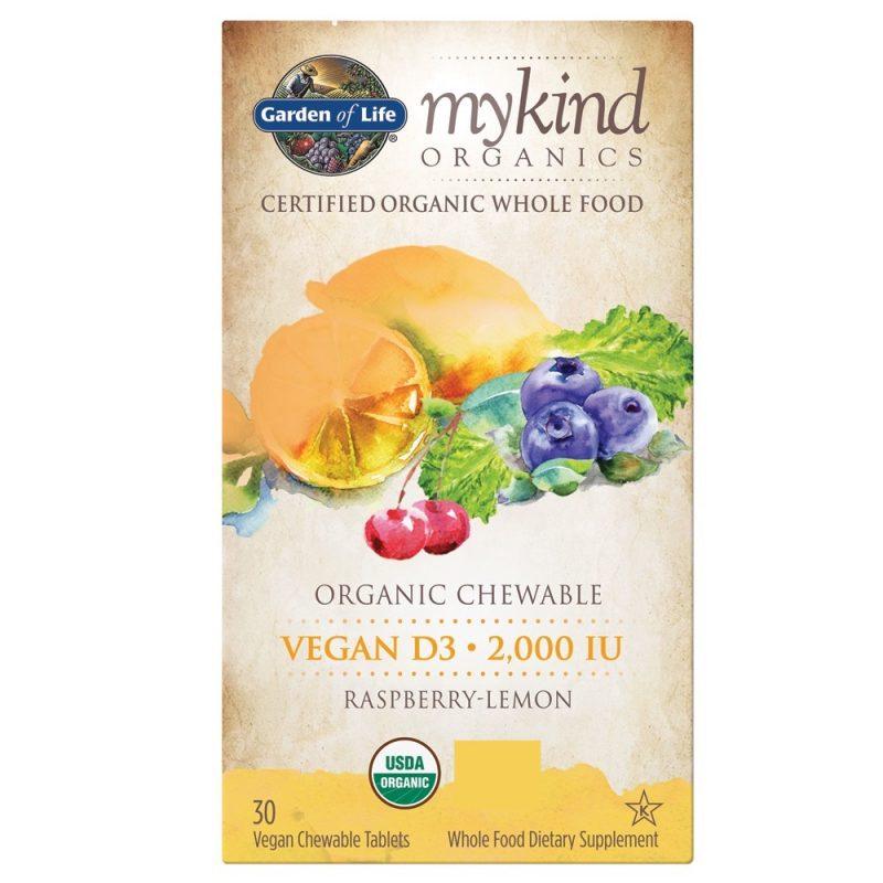 Mykind Organics Vegan D3 Tuggtablett