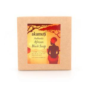 Akamuti Fast Afrikansk Tvål / African Black Soap