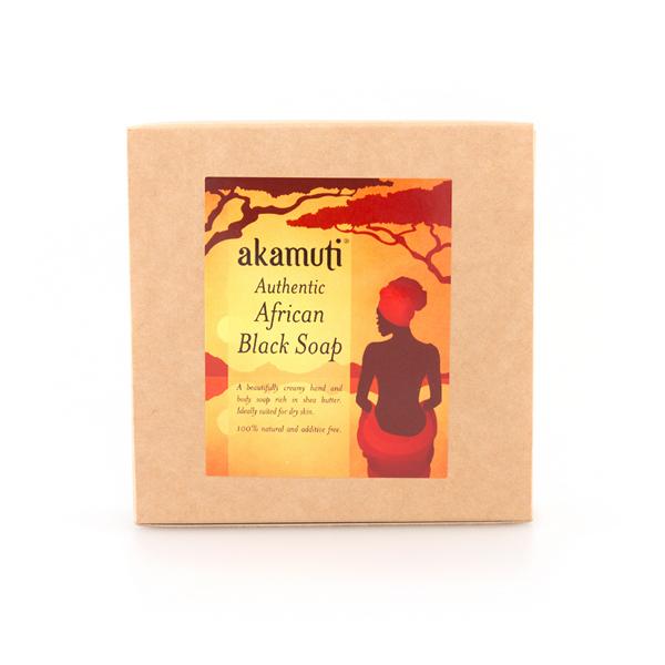 Akamuti Fast Afrikansk Tvål / African Black Soap 1