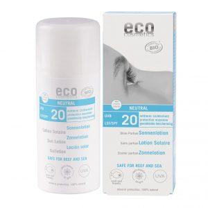 Eco Cosmetics Sollotion Neutral SPF 20