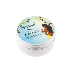 Nattkräm från Akamuti / Olive & Avocado Night Cream