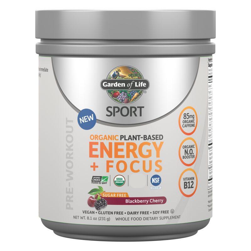 Garden of Life SPORT Energy & Focus / Pre-Workout 1