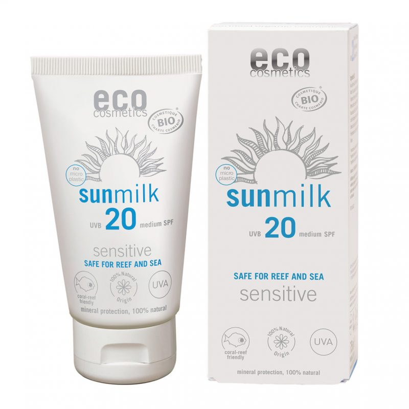 Eco Cosmetics Sun Milk SPF 20 1